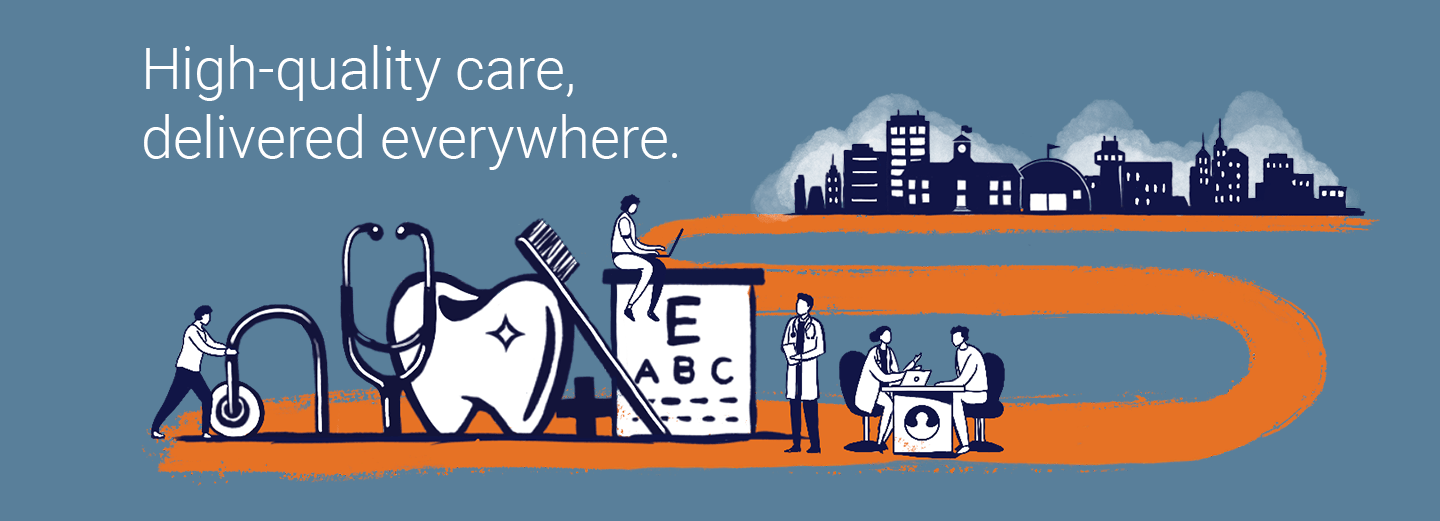 High-quality care delivered everywhere